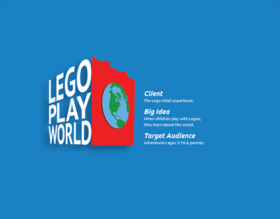 TAKE ON THE LEGO WORLD WITH ME