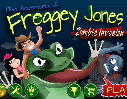 Froggy Jones Game App