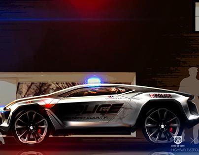 DODGE X NFS Highway Patrol Concept