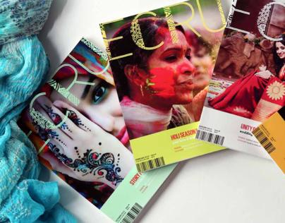 Ecru Typeface and Magazine