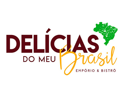 Delícias do Meu Brasil (Identidade Visual)