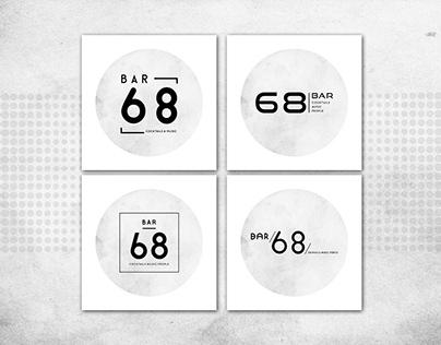 BAR 68 - Logo Design
