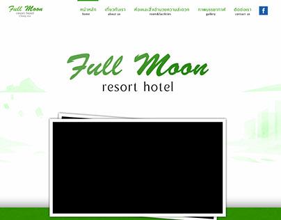 Full Moon Resort hotel - Website
