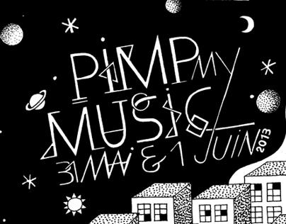 "Pimp my  music ""party"" artwork"