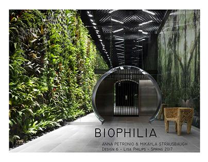 Design 6: Biophilia Research Book