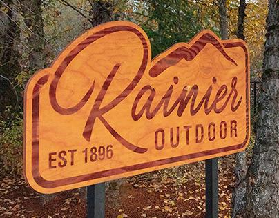 Rainier Outdoor Branding