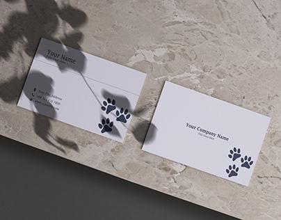 Animal Company Business Card