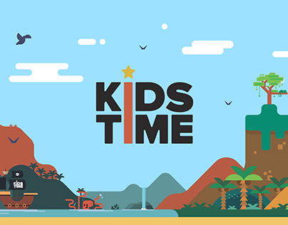 Design for creative playing space Kids Time