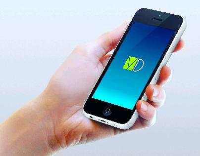 Vinger! Design Mobile App Logo