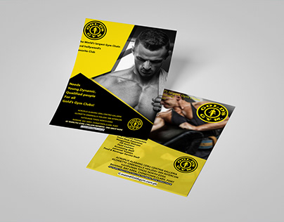Flyer Gold's Gym