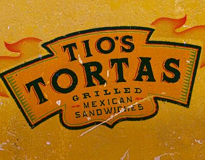 Tio's Tortas Restaurant Identity