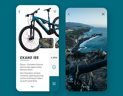 Propain Ekan App Design