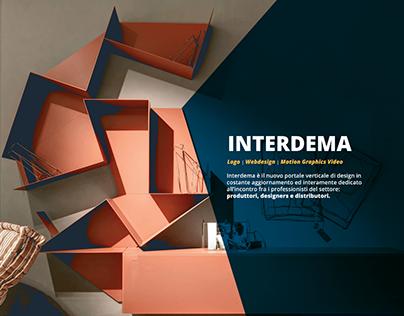 Interdema   Logo, Website, Motion Graphics