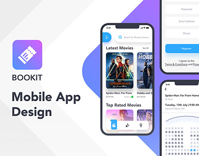 Bookit App | UI Design