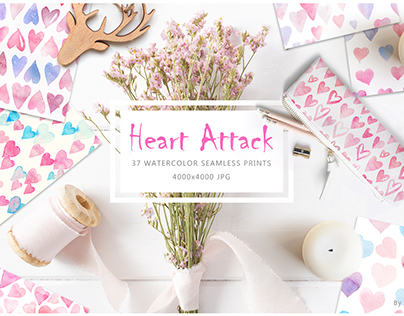 Heart Attack: Watercolor Prints