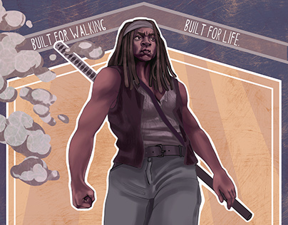 Michonne + Tevas Mashup Advertisement