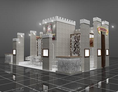 Design of the exhibition stand company Shokoland