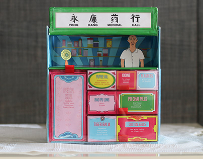 Traditional Chinese Medicine First Aid Kit