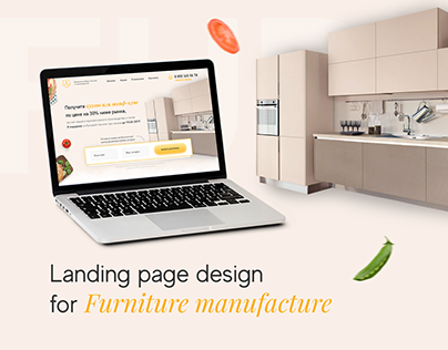 Landing Page for Furniture Manufacture