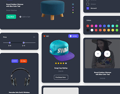 Product Widgets & Components