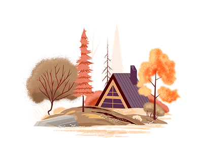 Nature digital illustration