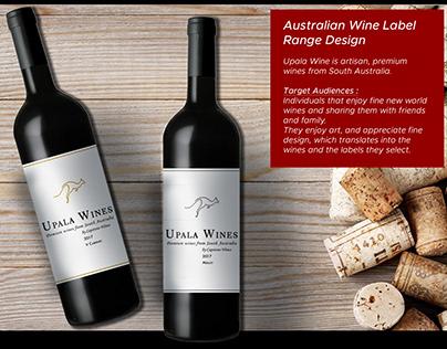 Australian Wine Label Design Finalist Entry 4