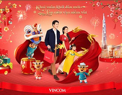 Vincom Retail | Key Visual for Tet holiday