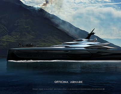 MEGA YACHT NEW WORLD ORDER - OFFICINA ARMARE