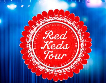Red Ked Tour - Keds Latinoamérica