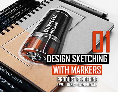 Marker Rendering & Sketching Video