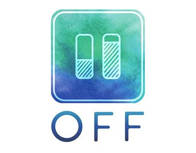 OFF, offrez-vous une pause (logo)