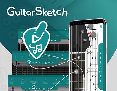 GuitarSketch- Guitar mobile app