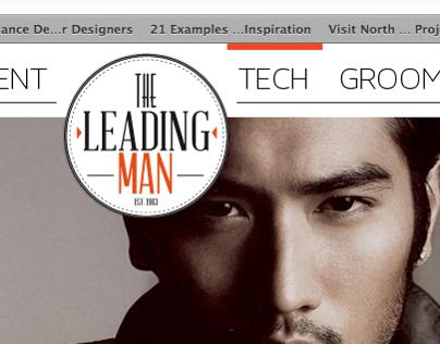 Leading Man Website