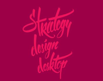 Strategy Design Desktop