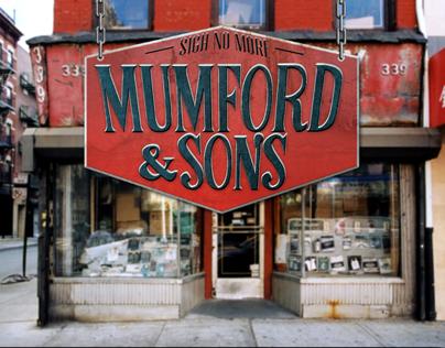 Mumford and Sons Album Art Redesign