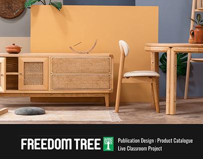 Publication Design- Freedom Tree's Bags of Joy