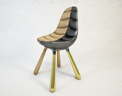 Established & Sons Tudor chair - 3D model