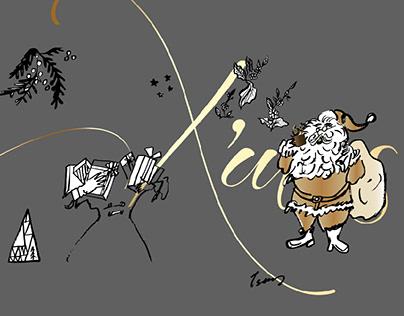 Christmas visual design 活動視覺設計