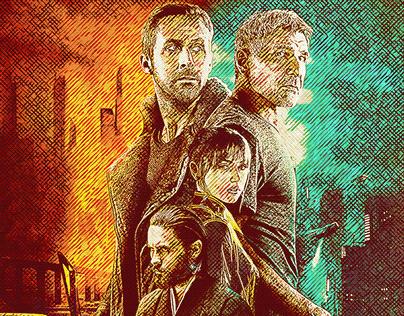 Blade Runner Hatching - Fan Art