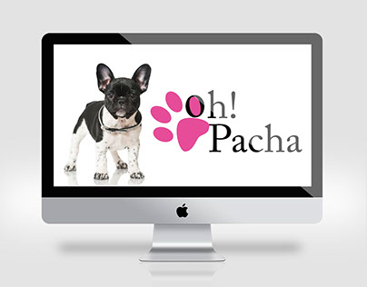 Oh Pacha - Website redesign