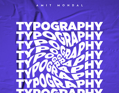Typography Poster Design or Text Effect in Photoshop