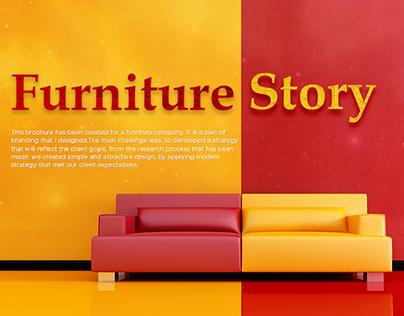 Brochure Design Furniture Story