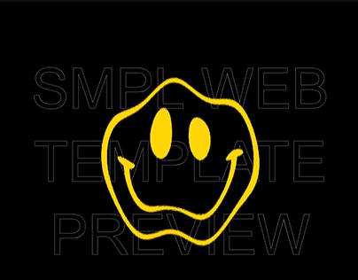SMPL Website Template