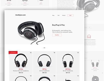 Clean & simple website design