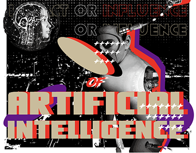 Impacr or Influence of AI Poster