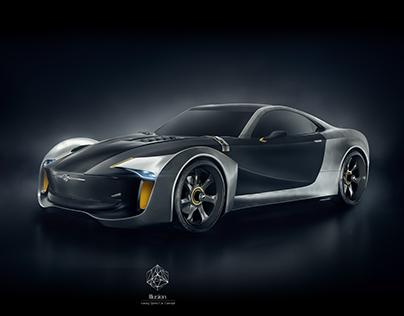 Illusion Luxury Sports Car | Design, Modelling, CGI