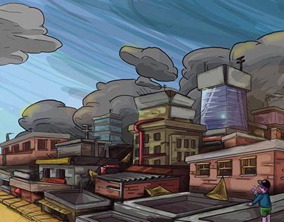 The city of smog