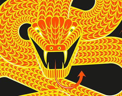 Cervezas La Bicha / Conceptual monogram