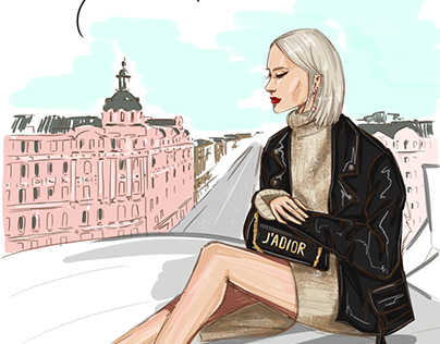 Illustrations of Saint-Petersburg