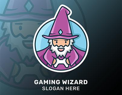 Wizard logotype - gaming